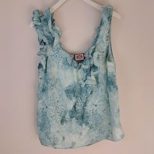 Juicy Couture | Sleeveless Ruffle Blouse  [Tops]